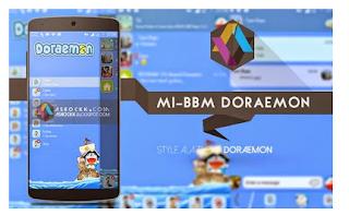 BBM MOD THEMA DORAEMON V2.12.0.11 CLONE APK TERBARU