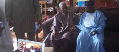 Obasanjo visits Afenifere leaders: