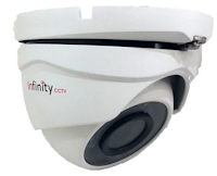 Infinity CCTV Dome Camera Indoor H-53, 800 TVL