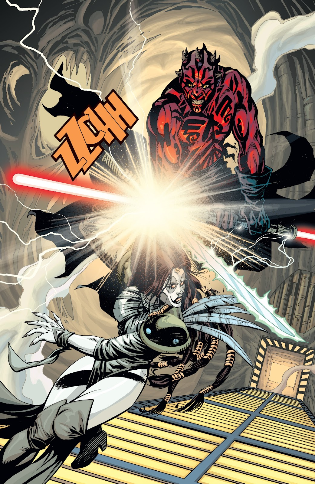 Read online Star Wars Legends: Rise of the Sith - Epic Collection comic -  Issue # TPB 2 (Part 3) - 19
