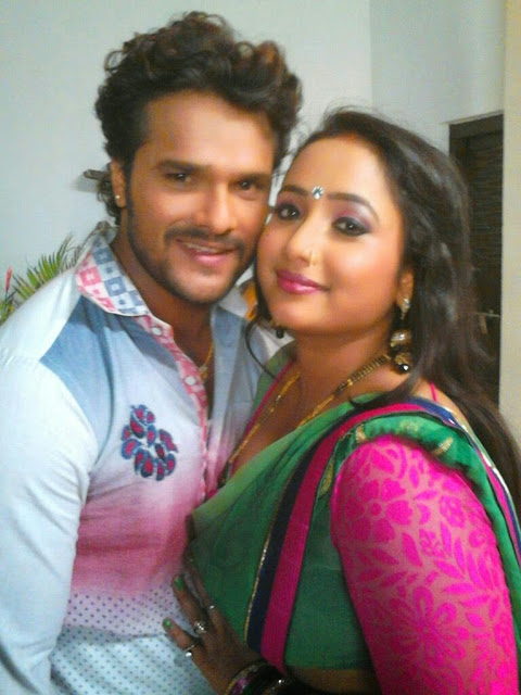 Bhojpuri Actor Khesari Lal Yadav and Actress Rani Chatterjee HD wallpaper