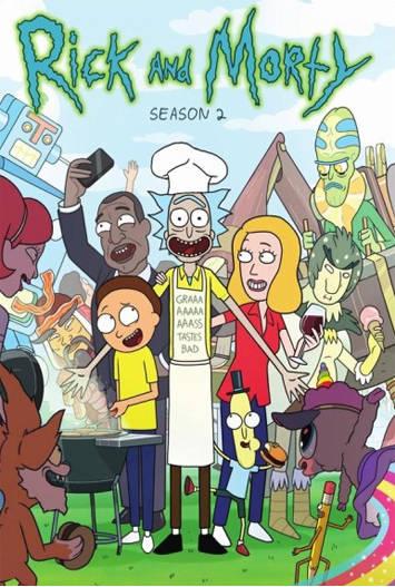 Rick y Morty Temporada 2 Completa Latino HD 1080p