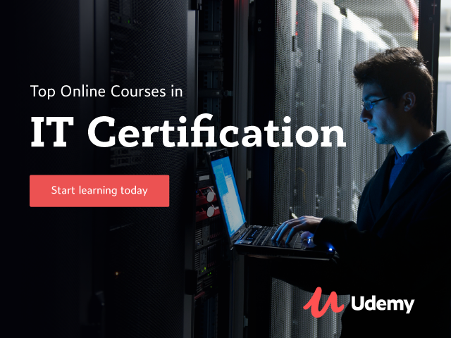 Udemy All Courses in Tech and IT Categories are $10, Everything else $15