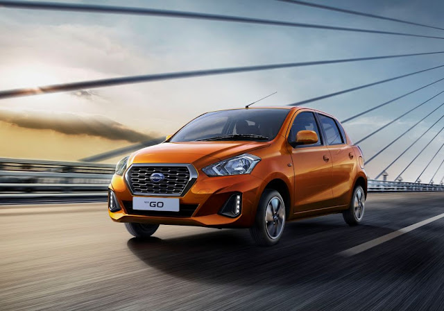 New 2018 Datsun GO Plus on road