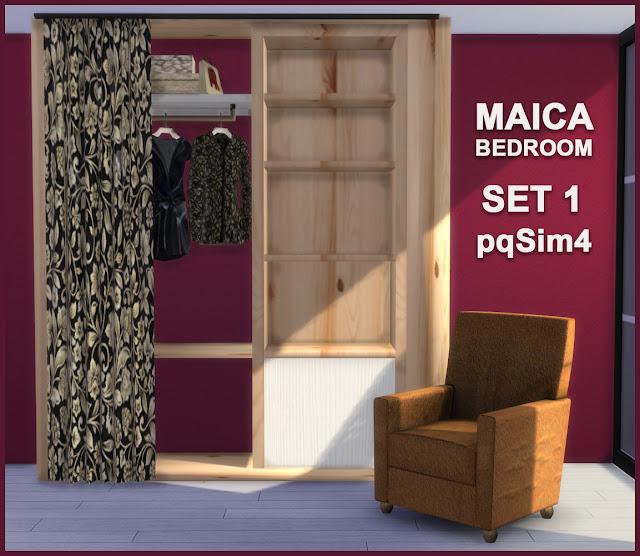 Armario y sillón Maica 5