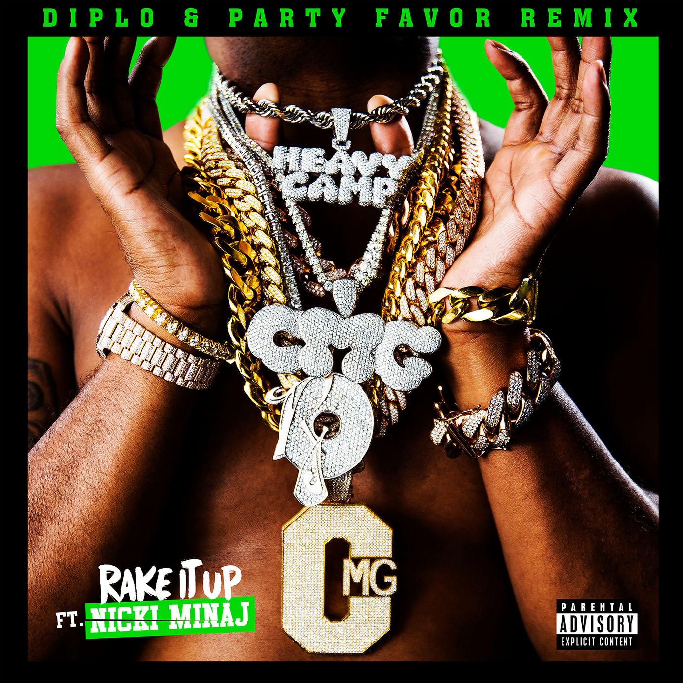 Yo Gotti - Rake It Up (Diplo & Party Favor Remix) [feat. Nicki Minaj] - Single