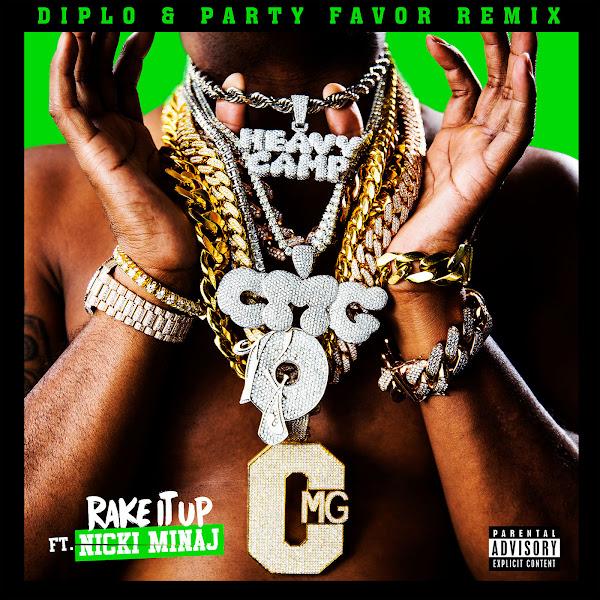 Yo Gotti - Rake It Up (Diplo & Party Favor Remix) [feat. Nicki Minaj] - Single Cover