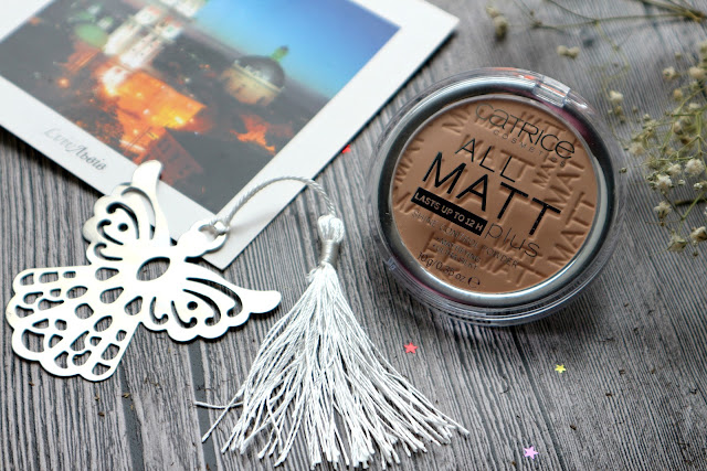 Catrice All Matt Plus Shine Control Powder Матирующая пудра
