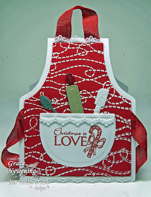 Our Daily Bread Designs, Jesus is the Reason, Stitch Background, Grace Nywening, ODBD Custom Apron and Tools Die Set