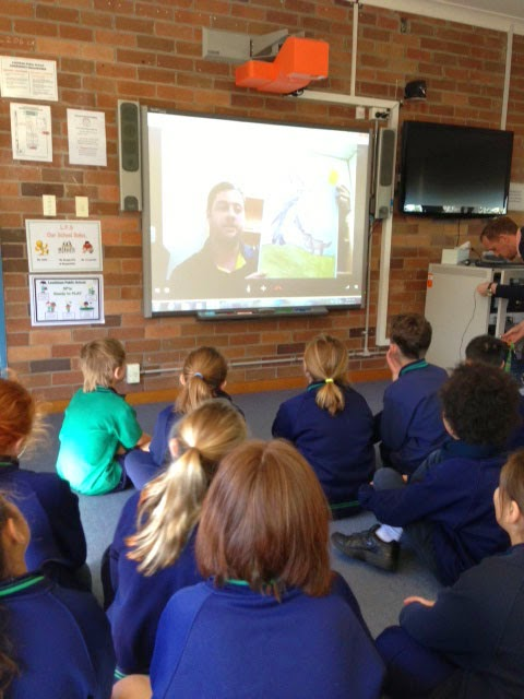 author skype with school kids