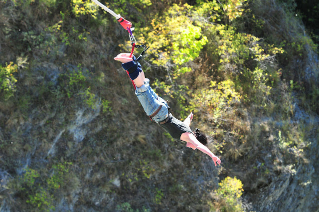 Bungee jumping is a must-do for thrill seekers
