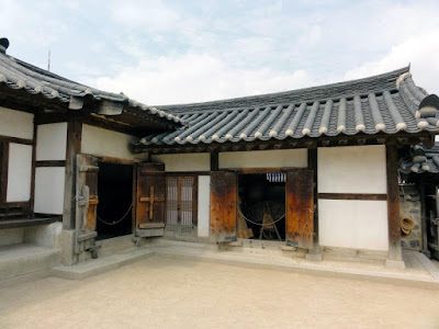 Hanok house at Namsangol Hanok Village Seoul