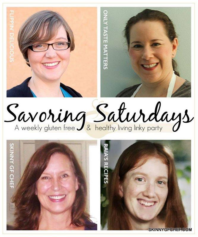 Great gluten free recipes at Savoring Saturdays