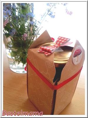 Box, Verpackung, Elementstanze Schleife