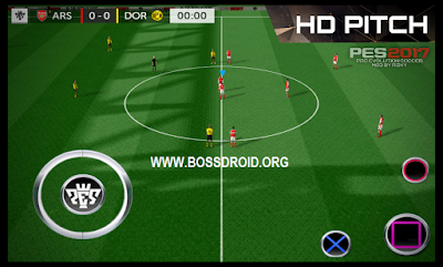 Download FTS MOD PES 2017 APK DATA