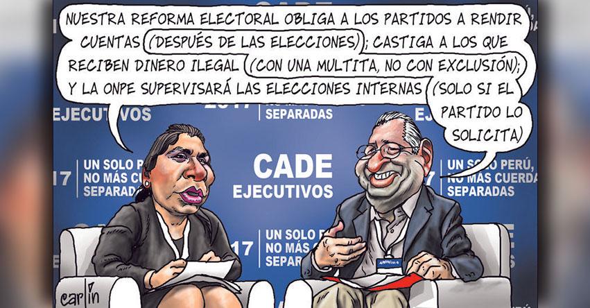 Carlincaturas Sábado 02 Diciembre 2017 - La República