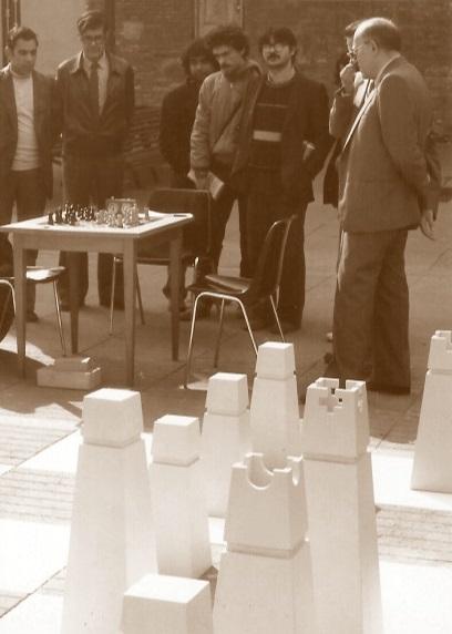 El ajedrecista Francisco García Orús