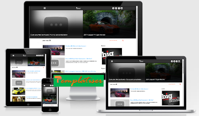 Screenshot Template Blogger Tubies - Templatiser