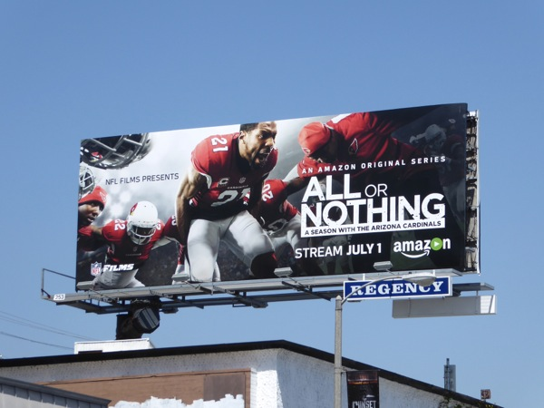All or Nothing series premiere billboard