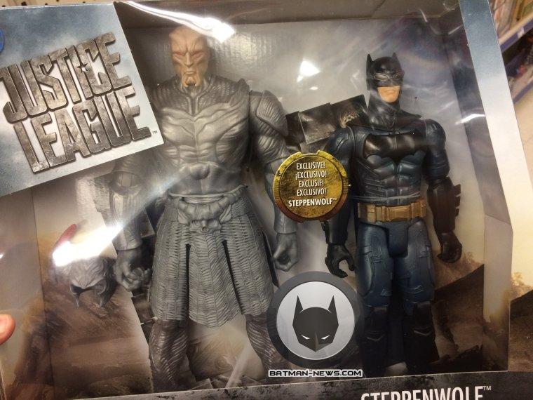 Juguete habría mostrado como lucirá Steppenwolf en Justice League