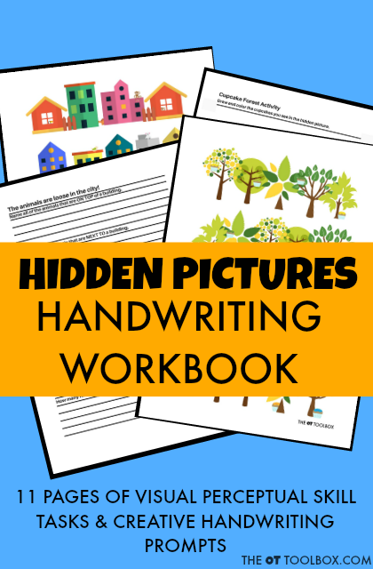 Hidden Pictures Handwriting Workbook