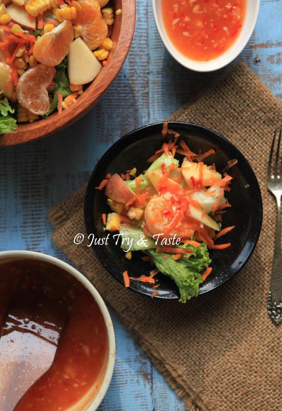 Resep Salad Sayuran Saus Mayonaise