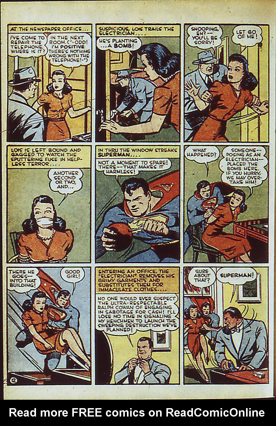 Read online Action Comics (1938) comic -  Issue #41 - 15