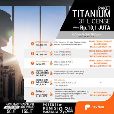 Panduan Paytren Paket Titanium
