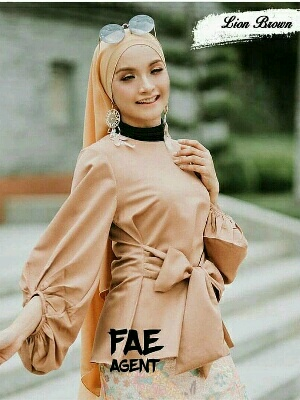 FAE TOP LION BROWN PR001