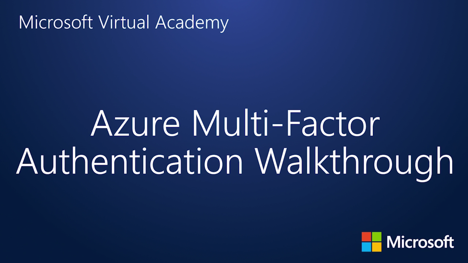 Exchange Anywhere: Let's Learn Azure Multi-Factor