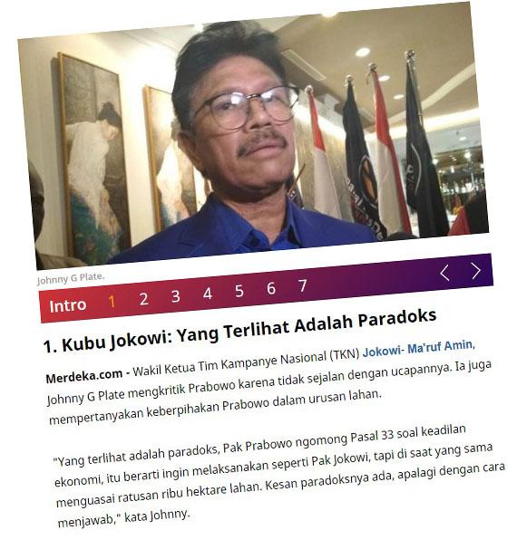 Pak Prabowo ngomong Pasal 33 soal keadilan ekonomi, itu berarti ingin melaksanakan seperti Pak Jokowi