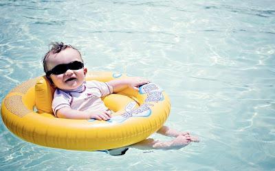 Noworodek na basenie?