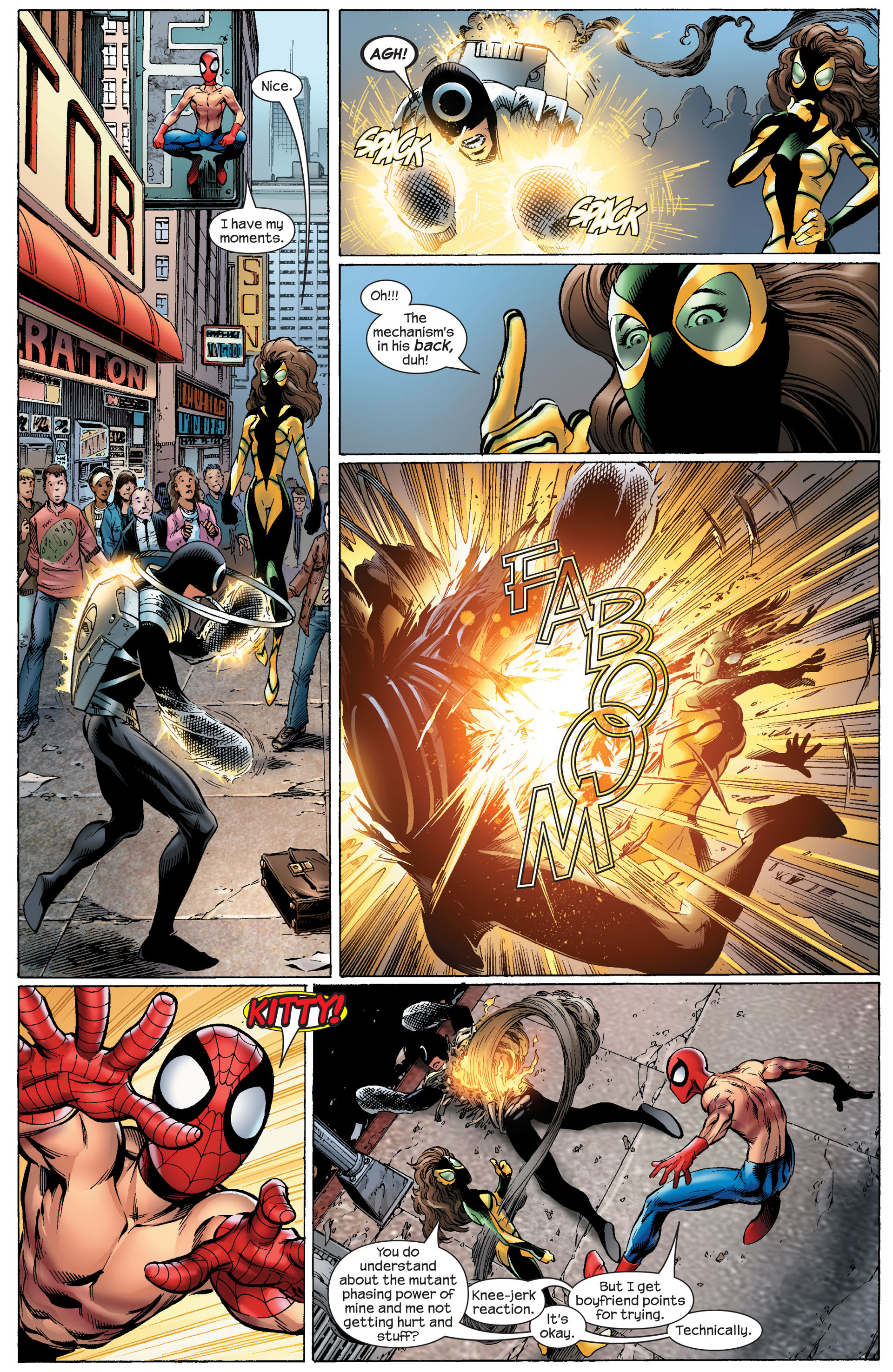 Read online Ultimate Spider-Man (2000) comic -  Issue #91 - 8