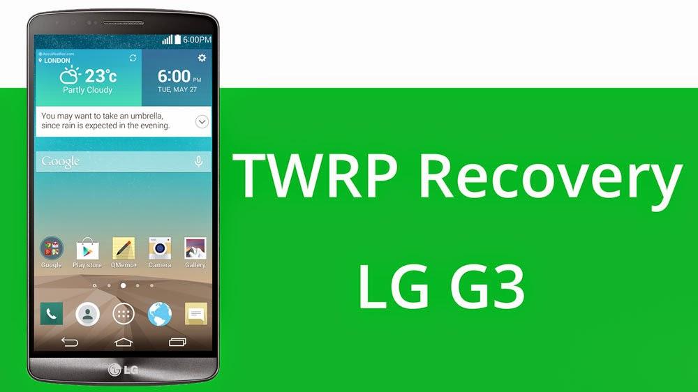TUTORIAL - Instalando o TWRP | Aqui G3