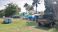 <b>Warga Sorot Kondisi Lapangan Pahlawan Kota Bima yang Semrawut</b>