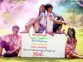 Holi 2017 Facebook Post