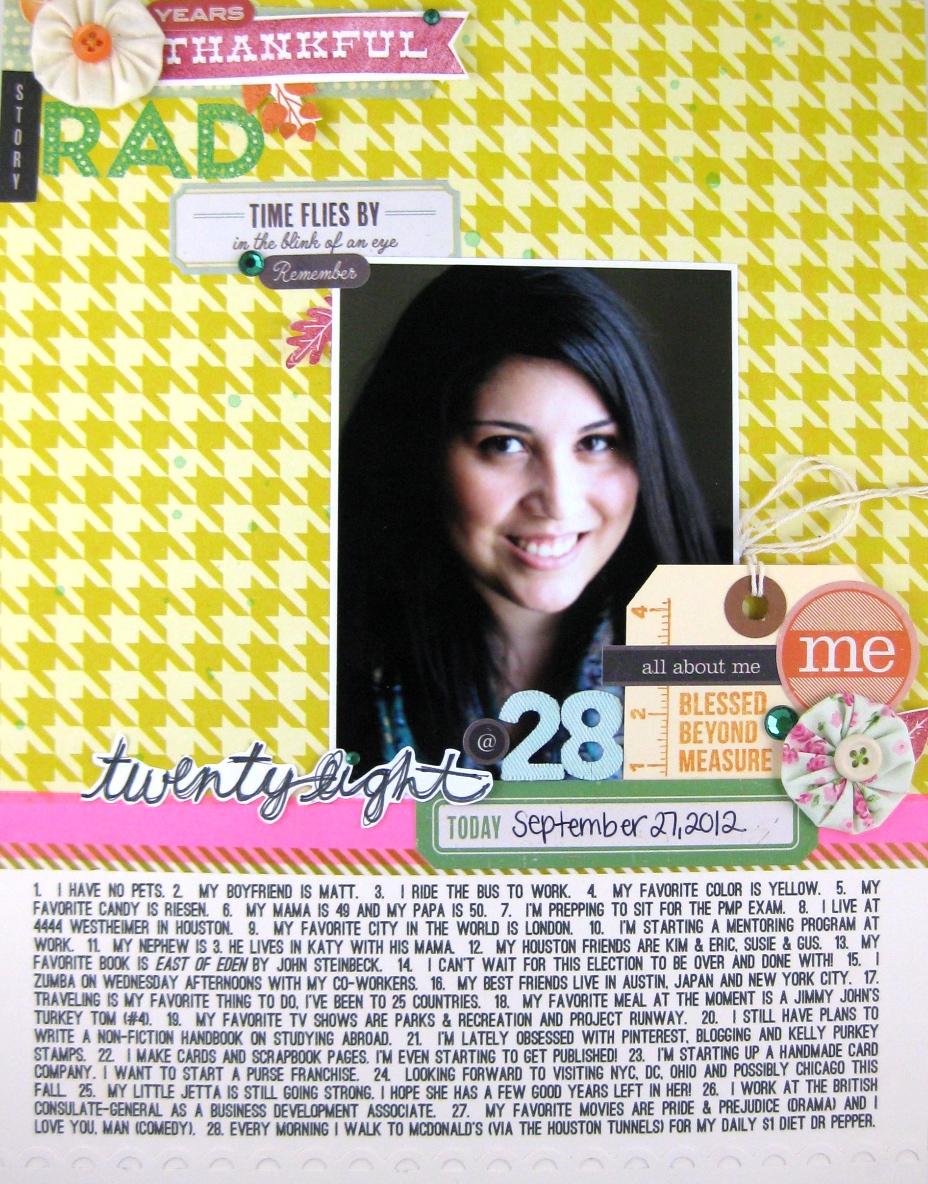 Jamie Leija Neon Birthday Card: Jamie Leija: 28 Blog Hop