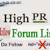 List of Top  High Page Rank 100 forum Posting sites 2016