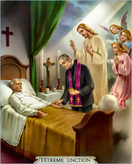 Resultado de imagen para lecho de muerte católico