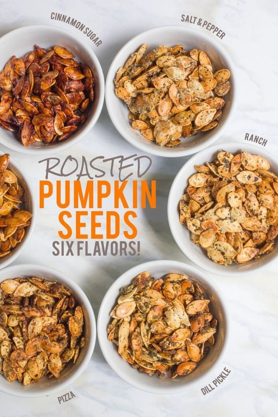 Flavored Roasted Pumpkin Seed Recipes