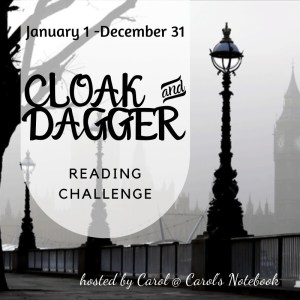 2020 Cloak and Dagger Reading Challenge Logo