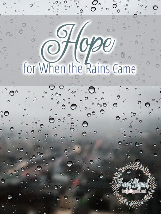 Hope for the Day When the Rains Came - A Look at the Life of Rizpah. (II Samuel 21) #hope #grief #faith #spiritualgrowth