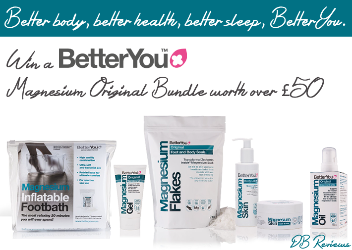 Win a BetterYou Magnesium Original Bundle