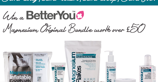 Win a BetterYou Magnesium Original Bundle worth over £50