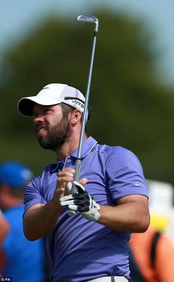the bearded neurologist  golfers with beards  shaving strokes not faces on the pga tour