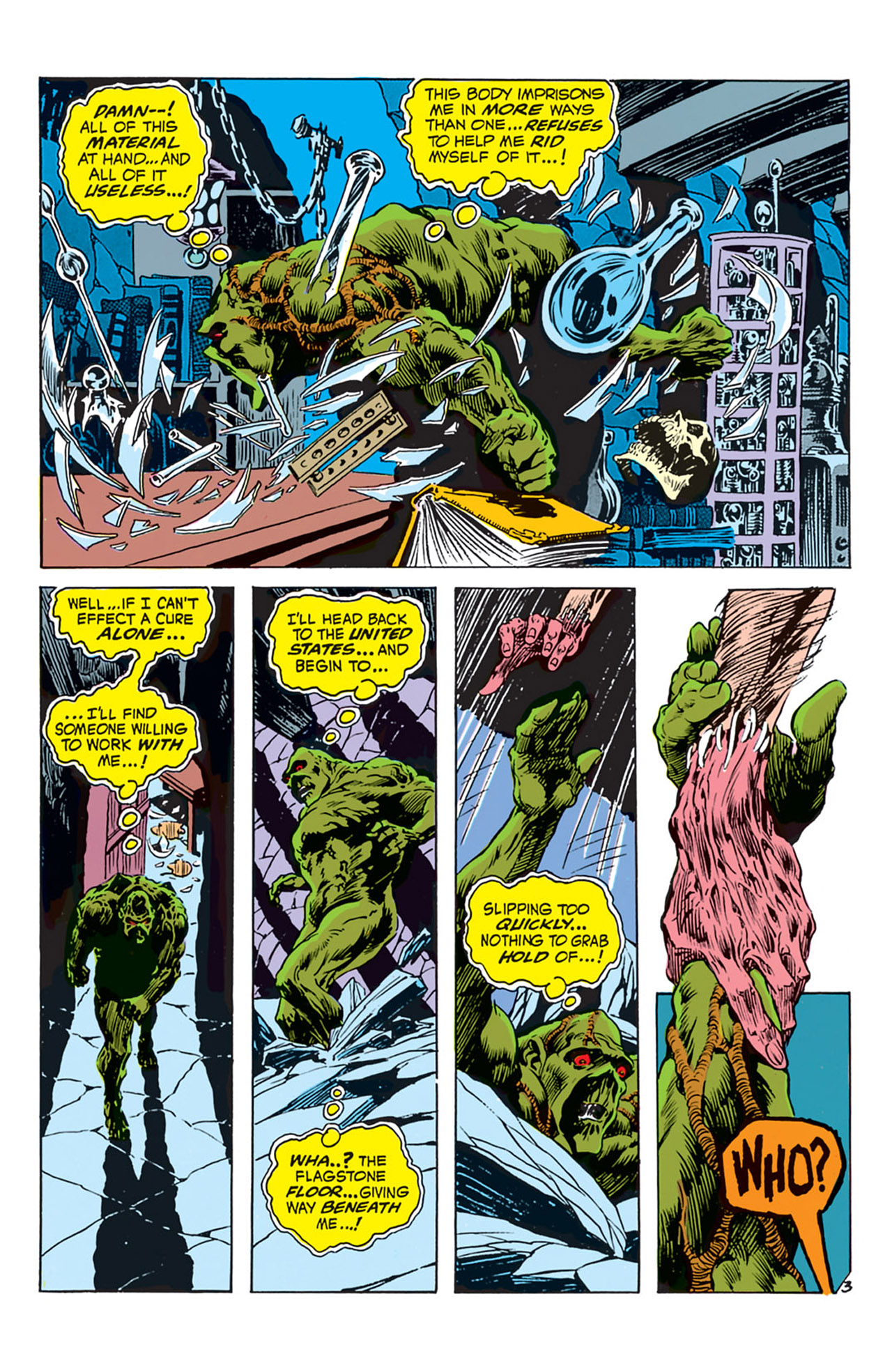 Swamp Thing (1972) Issue #3 #3 - English 4