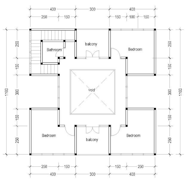 2nd Floor Plan for Plan c-03