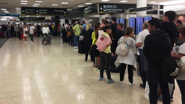 Cierre del Gobierno de EEUU afecta a la seguridad en aeropuertos