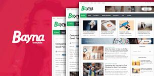 Bayna Premium Responsive Blog Style Blogger Template - Responsive Blogger Template