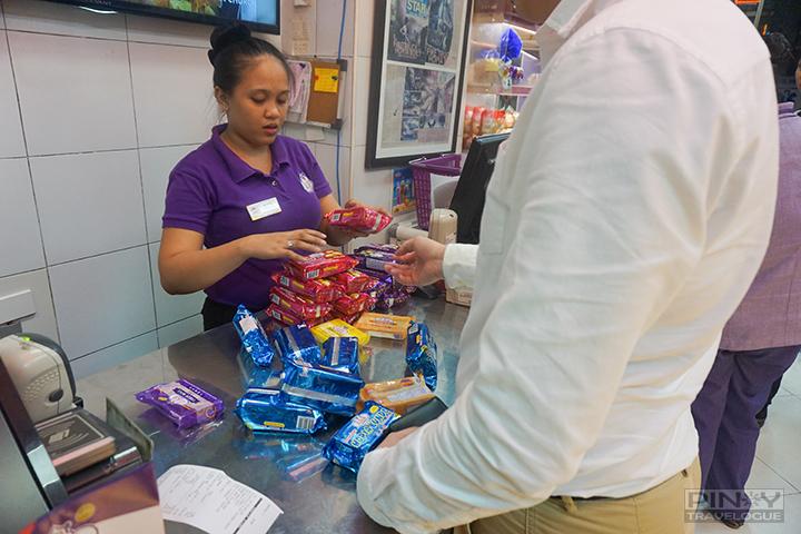 Pasalubong shopping at Eng Bee Tin